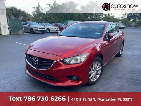2014 Mazda MAZDA6 for sale at AUTOSHOW SALES & SERVICE in Plantation FL