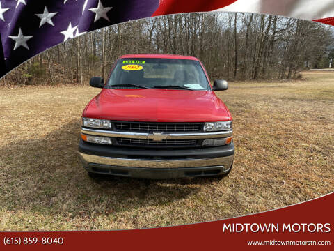 2002 Chevrolet Silverado 1500 for sale at Midtown Motors in Greenbrier TN