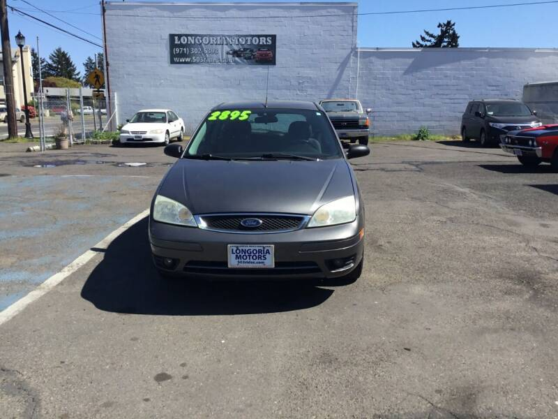 2006 Ford Focus for sale at Longoria Motors in Portland OR