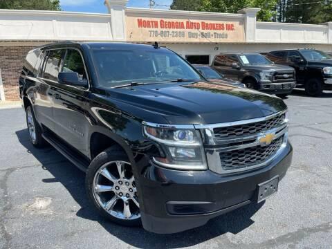2015 Chevrolet Suburban for sale at North Georgia Auto Brokers in Snellville GA