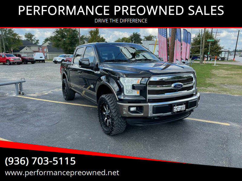 2015 Ford F-150 for sale at PERFORMANCE PREOWNED SALES in Conroe TX