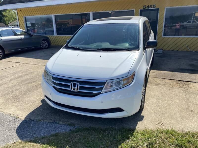 2011 Honda Odyssey for sale at THE COLISEUM MOTORS in Pensacola FL