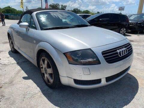 2001 Audi TT for sale at Solares Auto Sales in Miami FL