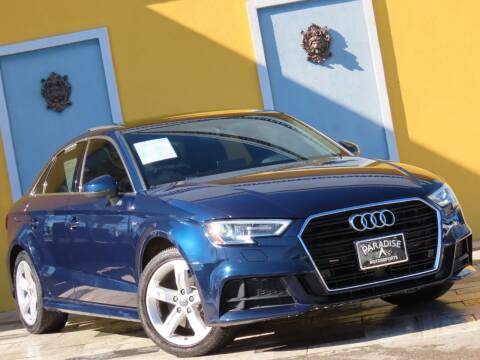 2018 Audi A3 for sale at Paradise Motor Sports LLC in Lexington KY