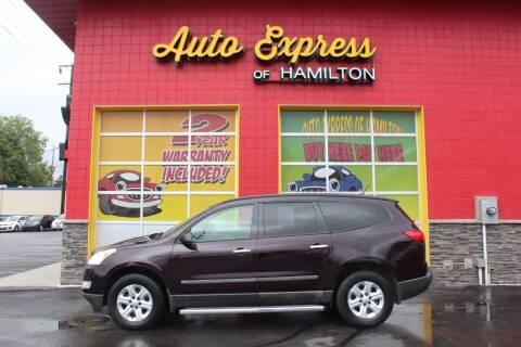 2009 Chevrolet Traverse for sale at AUTO EXPRESS OF HAMILTON LLC in Hamilton OH