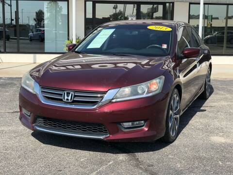 2013 Honda Accord for sale at Nelson Car Country in Bixby OK
