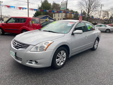 2012 Nissan Altima for sale at McNamara Auto Sales - Red Lion Lot in Red Lion PA