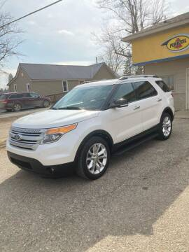 2015 Ford Explorer for sale at Hines Auto Sales in Marlette MI
