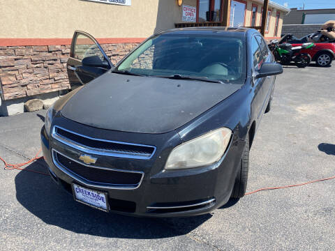 2012 Chevrolet Malibu for sale at Creekside Auto Sales in Pocatello ID