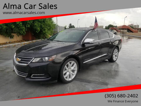 2015 Chevrolet Impala for sale at Alma Car Sales in Miami FL