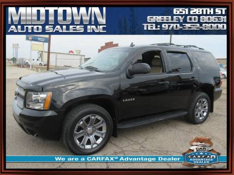2012 Chevrolet Tahoe for sale at MIDTOWN AUTO SALES INC in Greeley CO