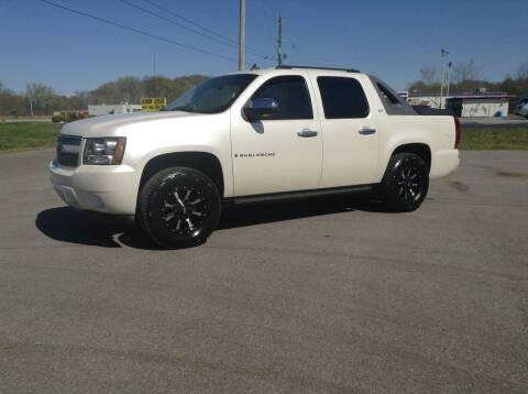 2008 Chevrolet Avalanche for sale at Darryl's Trenton Auto Sales in Trenton TN
