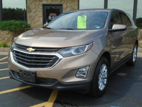2018 Chevrolet Equinox for sale at Rogos Auto Sales in Brockway PA