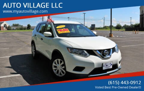 2016 Nissan Rogue for sale at AUTO VILLAGE LLC in Lebanon TN