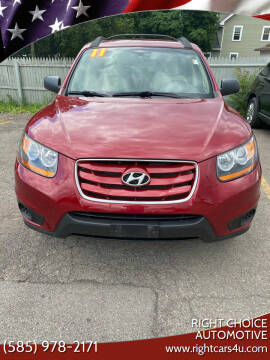 2011 Hyundai Santa Fe for sale at Right Choice Automotive in Rochester NY