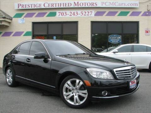 2011 Mercedes-Benz C-Class for sale at Prestige Certified Motors in Falls Church VA
