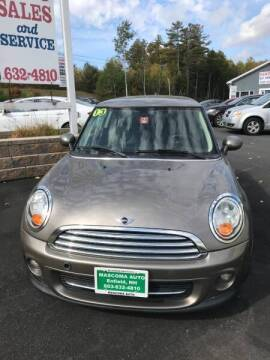 2013 MINI Hardtop for sale at Mascoma Auto INC in Canaan NH