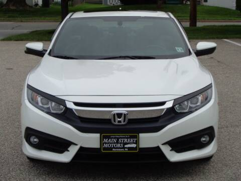 2016 Honda Civic for sale at MAIN STREET MOTORS in Norristown PA
