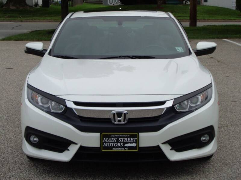 2016 Honda Civic for sale at MAIN STREET MOTORS in Norristown PA