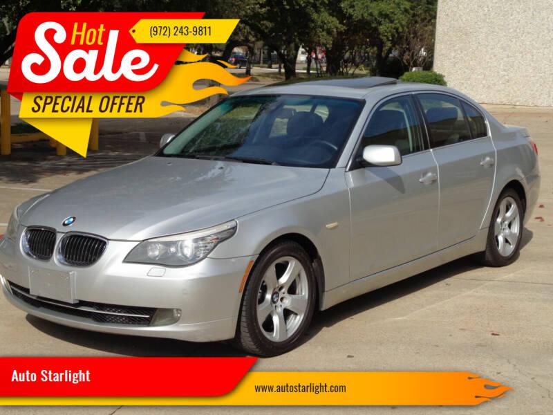 2008 BMW 5 Series for sale at Auto Starlight in Dallas TX