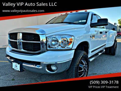 2007 Dodge Ram Pickup 3500 for sale at Valley VIP Auto Sales LLC in Spokane Valley WA