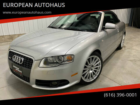 2009 Audi A4 for sale at EUROPEAN AUTOHAUS in Holland MI