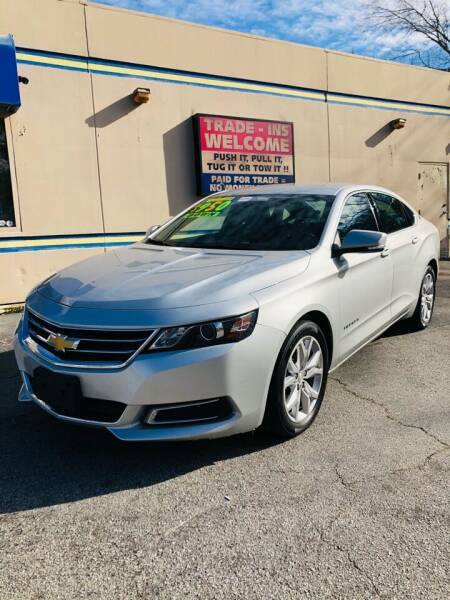 2017 Chevrolet Impala for sale at Capital Car Sales of Columbia in Columbia SC