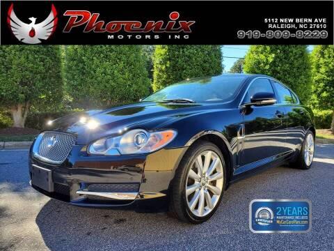2011 Jaguar XF for sale at Phoenix Motors Inc in Raleigh NC