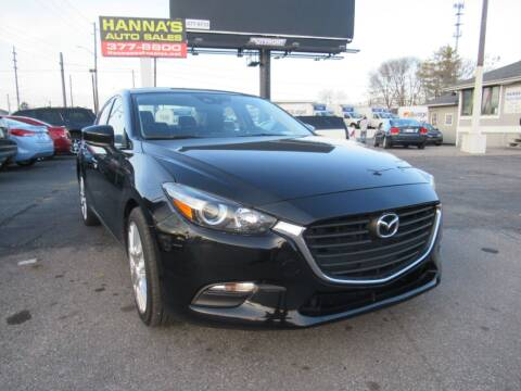 2017 Mazda MAZDA3 for sale at Hanna's Auto Sales in Indianapolis IN
