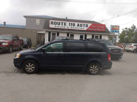 2008 Chrysler Town and Country for sale at ROUTE 119 AUTO SALES & SVC in Homer City PA