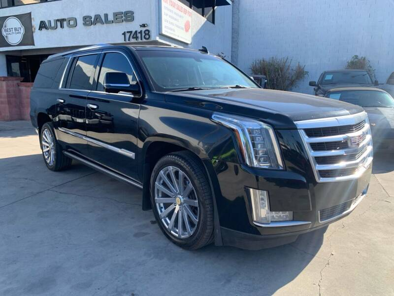 2015 Cadillac Escalade ESV for sale at Best Buy Quality Cars in Bellflower CA