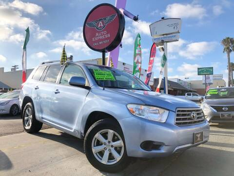 2008 Toyota Highlander for sale at Auto Express in Chula Vista CA