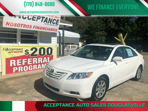 2009 Toyota Camry for sale at Acceptance Auto Sales Douglasville in Douglasville GA