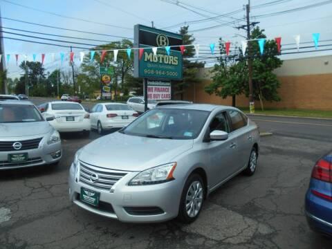 2015 Nissan Sentra for sale at Brookside Motors in Union NJ