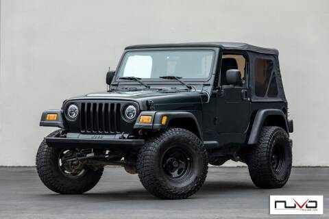 2006 Jeep Wrangler for sale at Nuvo Trade in Newport Beach CA