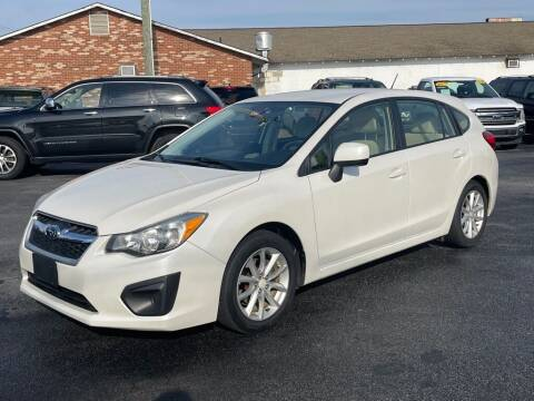 2014 Subaru Impreza for sale at Modern Automotive in Boiling Springs SC