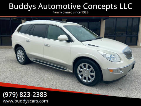 2012 Buick Enclave for sale at Buddys Automotive Concepts LLC in Bryan TX