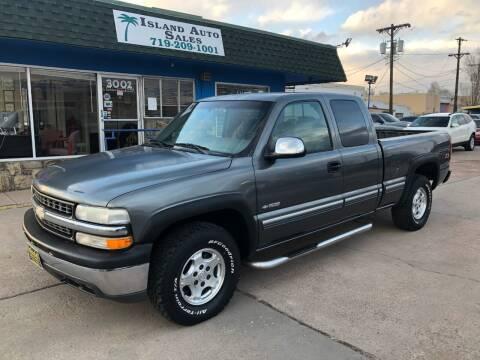 2000 Chevrolet Silverado 1500 for sale at Island Auto Sales in Colorado Springs CO