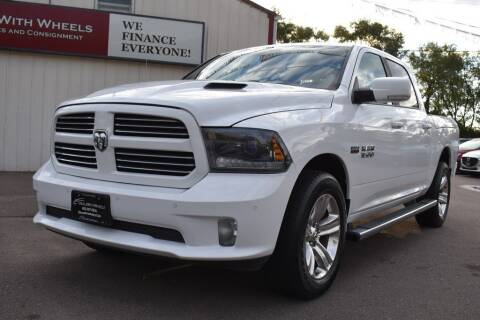 2015 RAM Ram Pickup 1500 for sale at Dealswithwheels in Inver Grove Heights MN