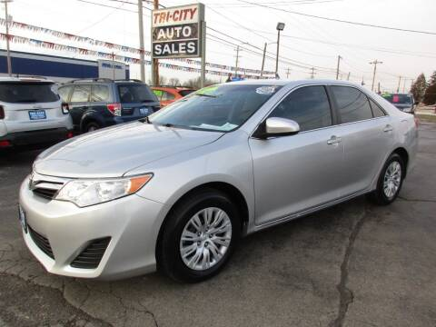 2012 Toyota Camry for sale at TRI CITY AUTO SALES LLC in Menasha WI