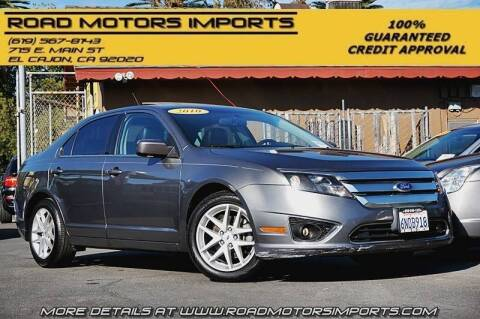 2010 Ford Fusion for sale at Road Motors Imports in El Cajon CA