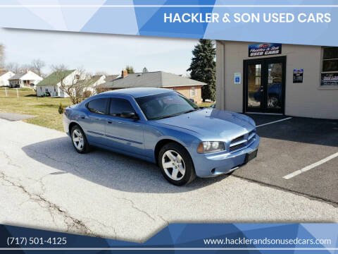 2007 Dodge Charger for sale at Hackler & Son Used Cars in Red Lion PA