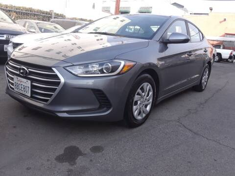 2018 Hyundai Elantra for sale at Western Motors Inc in Los Angeles CA