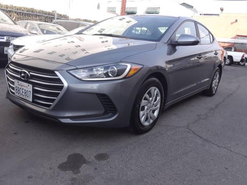 2018 Hyundai Elantra for sale at Western Motors Inc in Los Angeles CA
