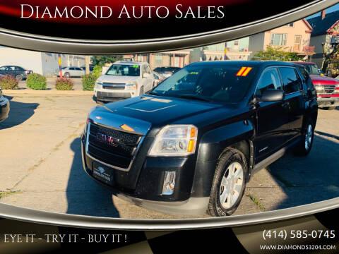 2011 GMC Terrain for sale at Diamond Auto Sales in Milwaukee WI