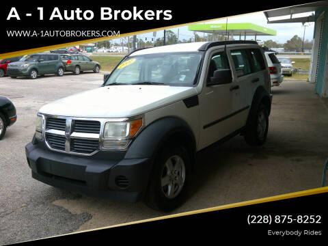 2007 Dodge Nitro for sale at A - 1 Auto Brokers in Ocean Springs MS