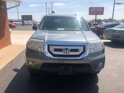 2010 Honda Pilot for sale at Moore Imports Auto in Moore OK