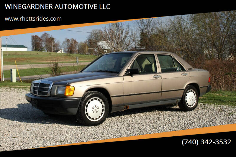1987 Mercedes-Benz 190-Class for sale at WINEGARDNER AUTOMOTIVE LLC in New Lexington OH