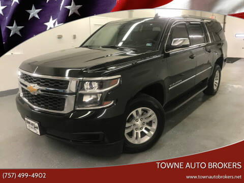 2016 Chevrolet Suburban for sale at TOWNE AUTO BROKERS in Virginia Beach VA