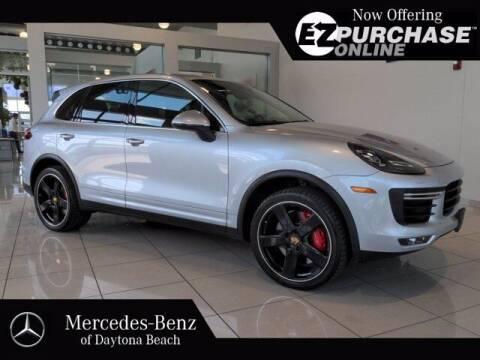 2017 Porsche Cayenne for sale at Mercedes-Benz of Daytona Beach in Daytona Beach FL